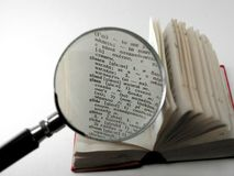 Dicionário Ilustração Royalty Free