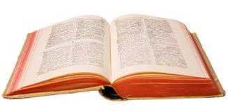 Dicionário francês-alemão Fotografia de Stock
