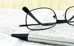Dicionário inglês Fotos de Stock