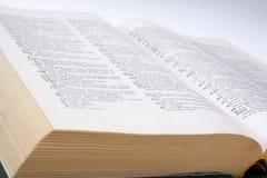 Dicionário inglês-russo Fotografia de Stock Royalty Free