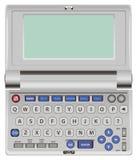 Dicionário eletrônico Imagem de Stock