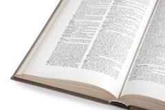 Dicionário (trajeto de grampeamento do interior) Imagens de Stock