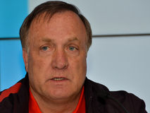 Dick Advocaat Stock Photo