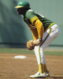 Allen, Oakland Athletics. Oakland Athletics DH Allen. image taken from color slide royalty free stock photography