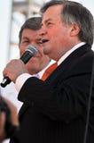 Dick Morris na reunião do partido de chá Imagens de Stock Royalty Free
