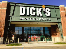 Dick`s Sporting Good store Stock Photos