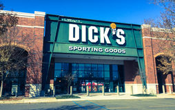 Dick`s Sporting Good store Royalty Free Stock Images