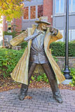 Dick Tracy Statue In Naperville Illinois Stock Photo