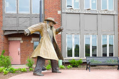 Dick Tracy Statue Naperville Illinois Stock Photo