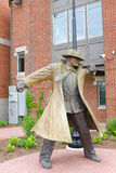 Dick Tracy Statue Naperville Illinois Stock Images