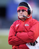 Dick Vermeil, Kansas City Chiefs Stock Photo