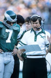 Dick Vermeil and Ron Jaworski Royalty Free Stock Images