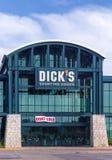 Dick&#x27 ; marchandises sportives de s extérieures Photos libres de droits