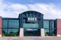 Dick&#x27 ; marchandises sportives de s extérieures Photographie stock libre de droits
