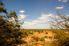 Dickens County, Texas Lizenzfreies Stockbild