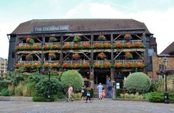 The Dickens Inn, London Royalty Free Stock Photos