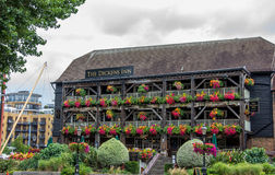 The Dickens Inn. At St Kathrine's Dock London England Stock Image