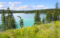 Dickey lake Montana Stock Photo