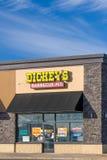 Dickey ` s grilla jamy restauracja Obrazy Royalty Free