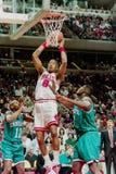 Dickey Simpkins, Chicago Bulls Stock Afbeelding