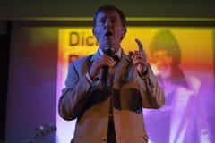 Dickie Rock sings Royalty Free Stock Images