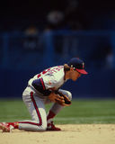 Dickie Schofield, California Angels Royalty Free Stock Images