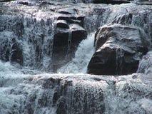 Dicks Creek Water Fall 1. A picture of  the main falls at Dicks Creek in Dahlonega, GA Stock Photos