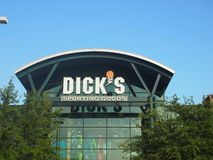 Dicks Sporting Goods in the StoneBriar shopping center Royalty Free Stock Photography