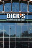 Dicks Sporting Goods Store. Dicks Sporting Goods is the largest sporting and fitness chain stores in US Royalty Free Stock Photography