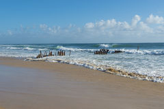 Dicky Beach Caloundra Sunshine Coast Stock Image