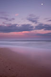 Dicky Beach at Sunset Stock Photography