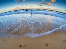Dicky Wreck Footprints fotografia de stock royalty free