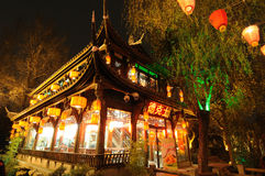 Dicos in Jinli old street Royalty Free Stock Image