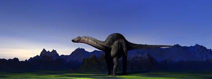 Dicraeosaurus Images libres de droits