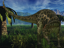 Dicraeosaurus - 3D Dinosaur Royalty Free Stock Image