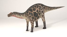 Dicraeosaurus-dinossauro ilustração do vetor