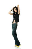 Dicso dancer Royalty Free Stock Image
