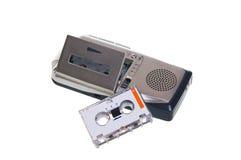 Dictáfono Imagen de archivo libre de regalías