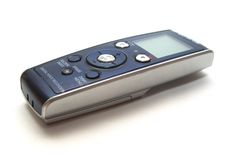 Dictaphone Stock Photo