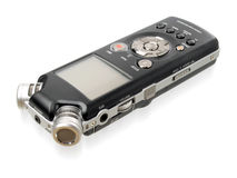 Dictaphone. Royalty Free Stock Image
