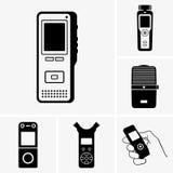 dictaphone Photos libres de droits