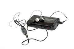 Dictaphone analogique Images stock