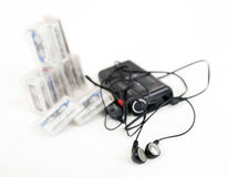 Dictaphone analogique Photographie stock