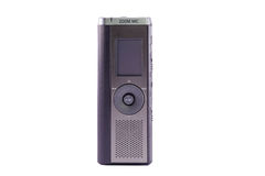 Dictaphone de Digitals Image stock