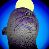 Dictator's head 3d rendering Stock Photography