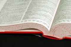 Dictionary 2. Another shot of a dictionary Stock Photos