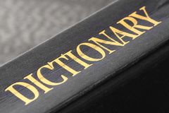 Dictionary B stock photography