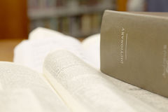 Dictionary Royalty Free Stock Photos