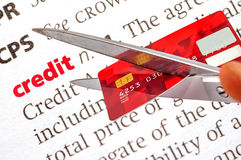 Dictionary definition of credit Royalty Free Stock Photo
