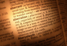 Dictionary page close up Royalty Free Stock Photo